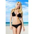 ATIXO Ketten-Bikini (black)