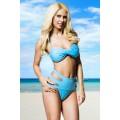 VARIOUS Bandeau-Bikini (Light Blue)
