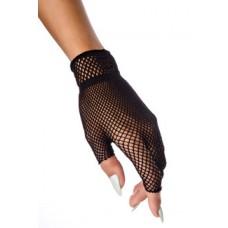 ATIXO fingerlose Netzhandschuhe (black)