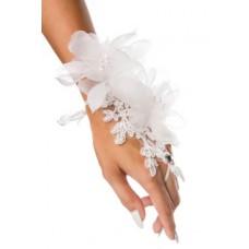 ATIXO floraler Handschmuck (White)