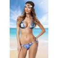 ATIXO Triangel-Bikini (blau)
