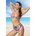 ATIXO Push-up Bikini (pink / gemusert)