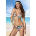 ATIXO Bikini (blue / patterned)