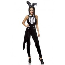 ATIXO Bunny-Kostüm (black-and-white)