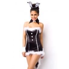 ATIXO Bunny Kostüm (black)