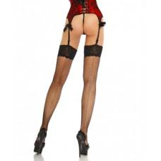 BEAUTYS LOVE Netz-Stockings mit Naht (black)