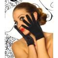 BEAUTYS LOVE Samt-Handschuhe kurz (black)