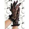 BEAUTYS LOVE Spitzen-Handschuhe kurz (black)