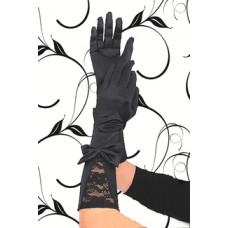 BEAUTYS LOVE Handschuhe aus Satin (black)