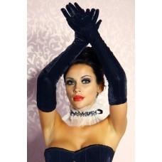 BEAUTYS LOVE Samt-Handschuhe lang (black)