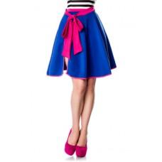 BELSIRA Wickelrock (blau/pink)
