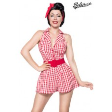 BELSIRA Retro-Jumpsuit (Red White)