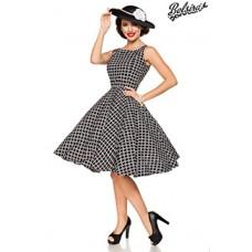 BELSIRA Vintage-Kleid (black-and-white)