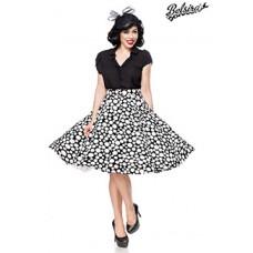 BELSIRA Tellerrock (black/white/dots)