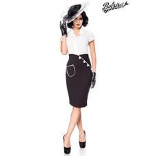 BELSIRA Bleistiftrock (black)