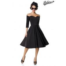 BELSIRA Belsira Premium Vintage Swing-Kleid (black)