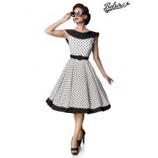 BELSIRA Belsira Premium Vintage Swing-Kleid (White black)