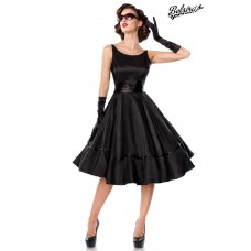 BELSIRA Belsira Premium Swing-Satinkleid (black)