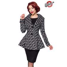 BELSIRA Belsira Premium Blazer-Jacke (black-and-white)