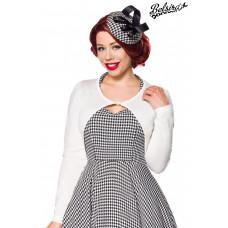 BELSIRA Vintage Strickjacke (White)
