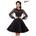 BELSIRA Vintage-Kleid (black)