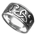 Darksilver Celtic Ring CR04