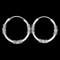 Darksilver Bali Creolen FSE007