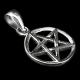 Darksilver Pentagramm Anhänger PP11