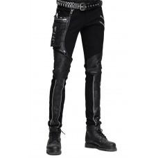 Devil Fashion Mens Gothic Andras Trousers