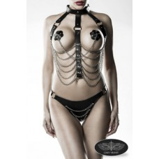 GREY VELVET 3-teiliges Kettenharness-Set von Grey Velvet (black)