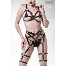 GREY VELVET 3-teiliges Erotikset von Grey Velvet (black)