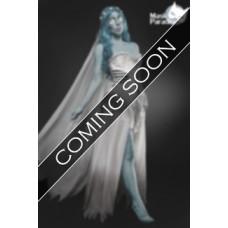 MASK PARADISE Skeleton Bride Kostüm (weiß / blue)