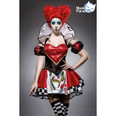 MASK PARADISE Queen in Red (black / red / white)