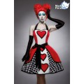MASK PARADISE Filmfigur Red Queen: Queen of Hearts (red / black / white)
