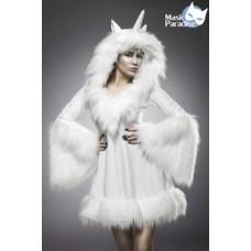 MASK PARADISE Einhornkostüm: Glamour Unicorn (White)