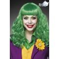 MASK PARADISE Lady Joker Perücke (green)