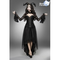 MASK PARADISE Dämonenkostüm: Gothic Demon (black)