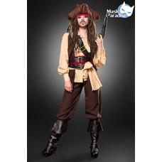 MASK PARADISE Captain Jacky (brown)