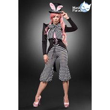MASK PARADISE Honey Bunny (black / white / pink)