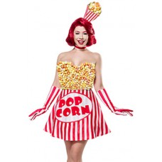 MASK PARADISE Popcorn Girl (Red White)