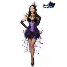 MASK PARADISE Peacock Girl (black / purple)