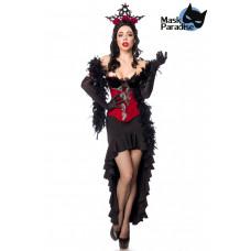 MASK PARADISE Burlesque Queen (black red)
