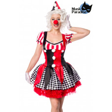 MASK PARADISE Sexy Clown (red / black / white)