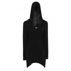 Necessary Evil Gothic Juno Hooded Dress