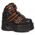 New Rock M.1078-S2 (Schwarz, orange)