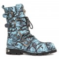 "New Rock M.1473-S44 ( ""Azul, Black, Blue, GREY)"