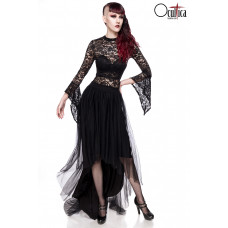 OCULTICA Gothic-Tüllrock (black)