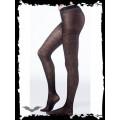 Queen of Darkness Zebra-Look Stockings