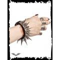 Queen of Darkness Super-Spiky Metal Bracelet