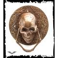 Queen of Darkness Big round door handle bronze-colored